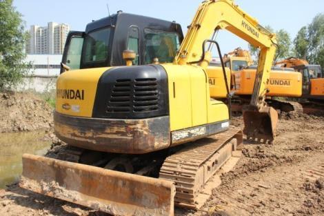 现代二手80-7挖掘机