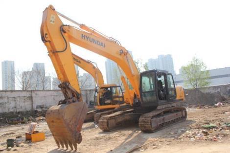现代二手265-7挖掘机