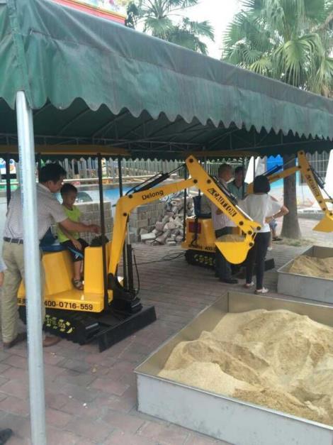 广州游乐场儿童挖掘机