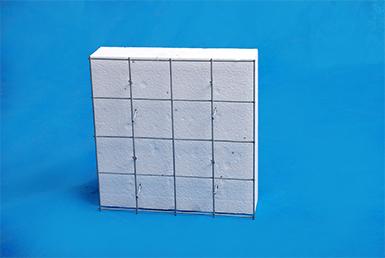 轻型钢丝网架聚苯板