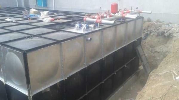 地埋式箱泵一體化消防設備